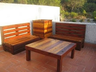 Ideas para hacer muebles con palets Offtopic Taringa